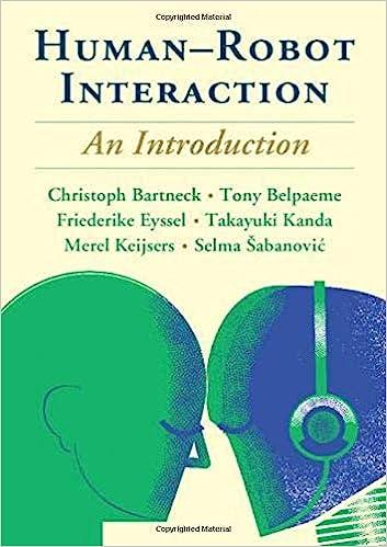 Human-Robot Interaction: An Introduction