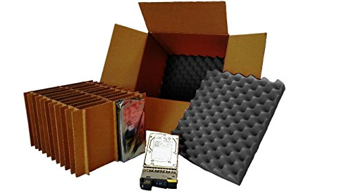 """Wholesale Hard Drive Shipping Box - For 3.5"""" Hard Drives WITH Trays/Caddys (Pack of 5 Boxes) hot sale"""
