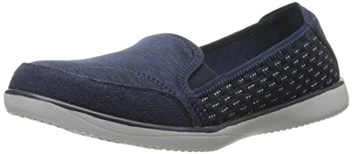 Skechers Sport Women's Spectrum Showy Fashion Sneaker, Navy, 6 M US