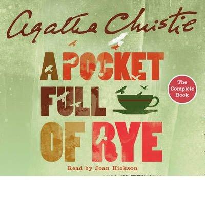 A Pocket Full of Rye: Complete & Unabridged (CD-Audio) - Common PDF