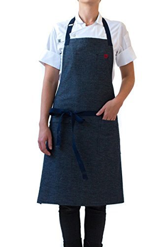 Hedley & Bennett American Made Apron: Spinning Plates by Hedley & Bennett