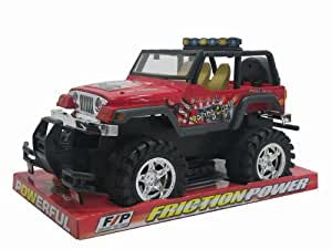 """WGI 14.5"""" Friction Power Racing Cycle Truck"""