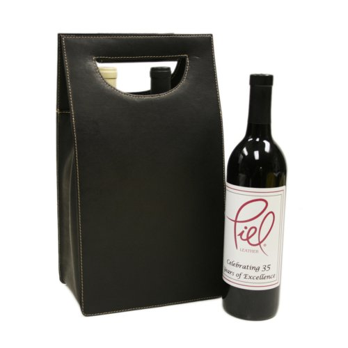 piel-leather-double-wine-carrier-chocolate-one-size