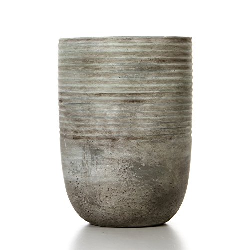 Hosley's 7.5'' High, Ceramic Planter. Ideal Gift for Weddings, Contemporary Decor, Party, Spa, PTOO O6 by Hosley