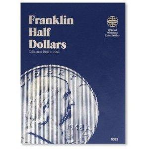 - Whitman Franklin Half Dollar Folder (1948-1963) #9032 by Whitman Coins by Whitman Coins