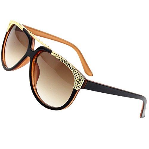 Sumery Retro Vintage Unisex Round Lens Sunglasses Brand designer Sun Glasses Women Men Unisex (Brown, - Triathlon Wikipedia