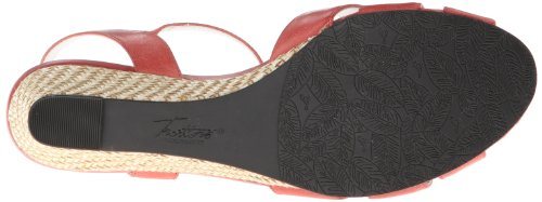 TROTTERS Mickey Wedge Women's Pump Red qgRwq6x