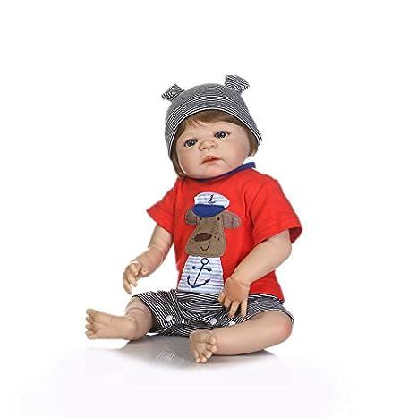 Amazon.com: iCradle Realistic Lifelike Baby Boy Toddler Toy 19 Inch ...
