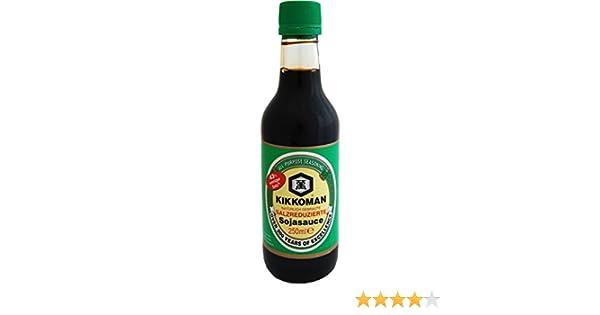 Kikkoman - Salsa de Soja baja en sal, 250 ml: Amazon.es: Alimentación y bebidas