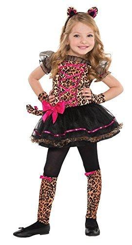 Leopard Toddler Costumes (Children's Precious Leopard Costume Size Toddler (3-4))