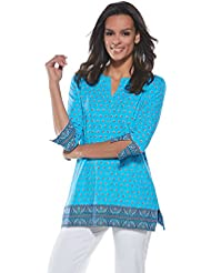 Coolibar UPF 50+ Womens St. Lucia Tunic Top - Sun Protective