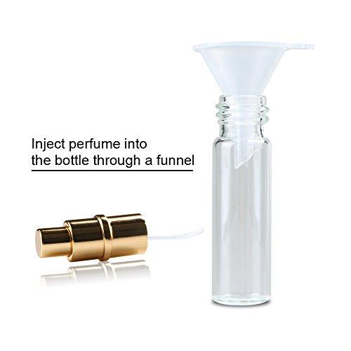 Enjoydeal 6pcs 10ml Lovely Heart Pattern Protable Perfume Atomizer Refillable Spray Bottle by Enjoydeal (Image #5)