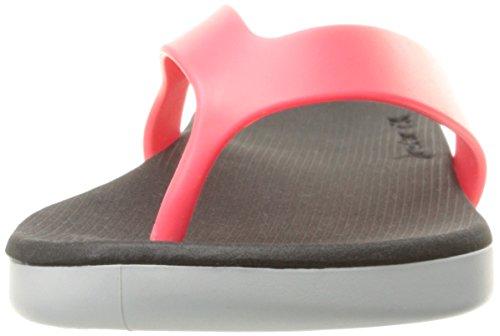 Rider Women's Rx Thong Sandal White/Black/Pink 6f3CW
