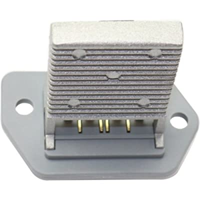 Blower Motor Resistor compatible with CHEVROLET AVEO 04-14 4 Male Blade-type Terminals: Automotive