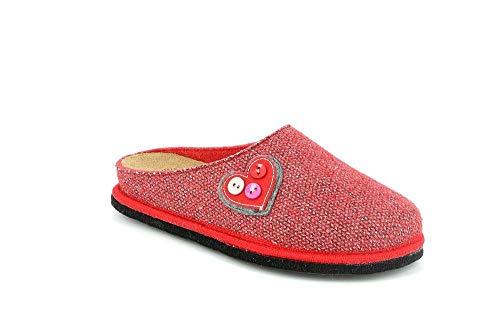 S CI1476 SIGE Rosso Ciabatta GRUNLAND Donna nF4TSgnq