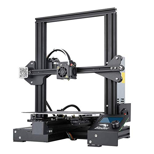 Creality Ender 3 Pro 3D Printer with Magnetic Build Surface Plate and UL Certified Power Supply Metal DIY Printers 220x220x250MM Print Size