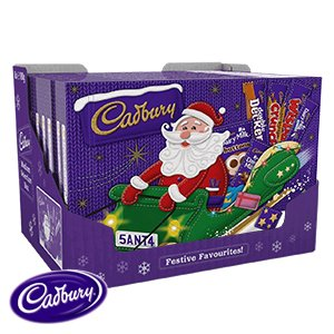 Cadbury Christmas Med Selection Box 8 pack EXPEDITED SHIPPING - Box Selection Christmas