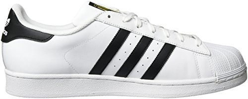 Adidas Originals Superstar White Shoes Black rr4Fqnz