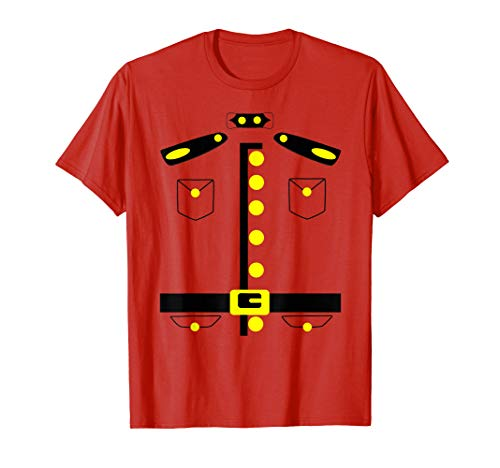 Canadian Mountie Costume Canada Police RCMP Shirt