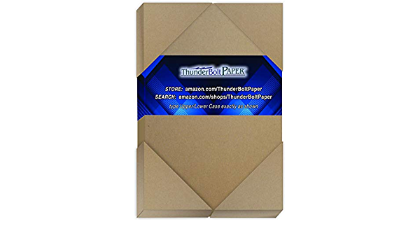 100 Sheets Brown//Gray Chipboard 60 Point Extra Thick 4 X 6 Photo|Card|Frame Size .060 Caliper Extra X Heavy Cardboard as Thick as 15 Sheets 20# Paper 4X6 Inches