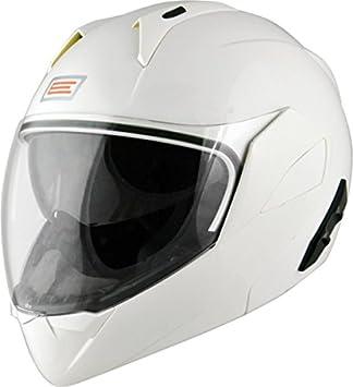 Origine Helmets - Riviera Dandy Flip-Up Casco Moto, Blanco/Negro, XL