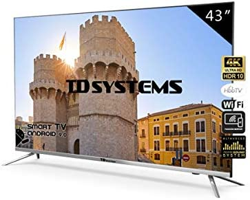 Televisores Led TD Systems (50 Pulgadas UHD) (43 Pulgadas Ultra HD 4K Smart (K43DLJ10US)): Amazon.es: Electrónica