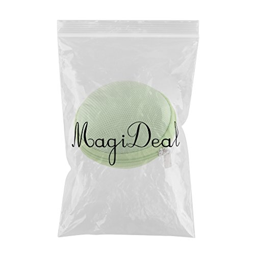 Mini Caja Bolsa de Almacenamiento Bolsillo para Auriculares - Gris Verde