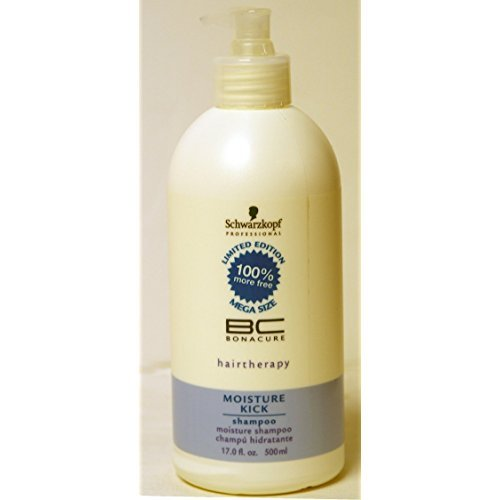 Schwarzkopf Bonacure Moisture Kick Shampoo 17.0oz LIMITED EDITION MEGA SIZE WITH PUMP ()