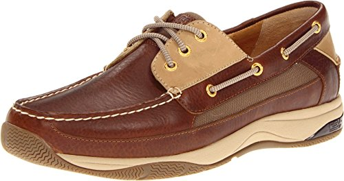 Sperry Top-Sider Men's Gold Billfish w/ASV Dark Brown/Tan Boat Shoe 7 M (D)