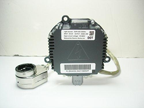 Genuine OEM 2007-2011 Mazda CX-7 CX7 2009-2011 Mazda RX-8 RX8 2006-2008 Mazda MX-5 MX5 Miata Xenon HID Ballast Control Unit Computer Module and Bulb Igniter Socket Cable E221510H3 / ()