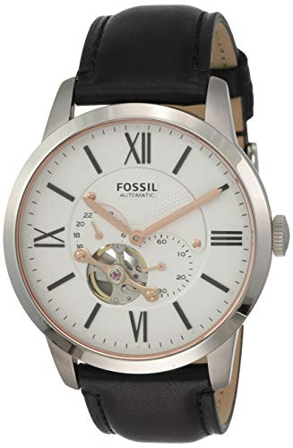 Fossil Men's ME3104 Automatic Self-Wind Watch with Black Strap