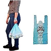 bolsas tipo camiseta oxobiodegradables resistentes multi proposito supermercado ecofriendly 100% compostable…