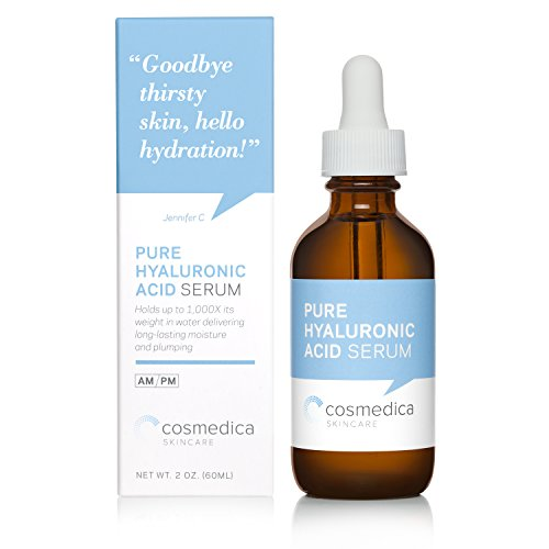 Hyaluronic Acid Serum for Skin-- 100% Pure-Highest