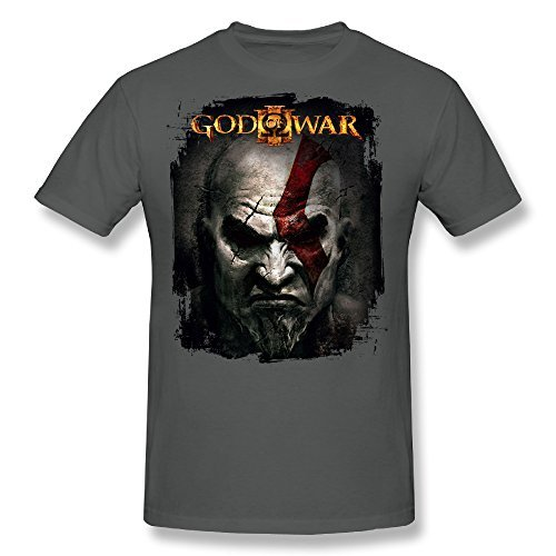Kazzar Men's Kratos God Of War Artwork T Shirt L