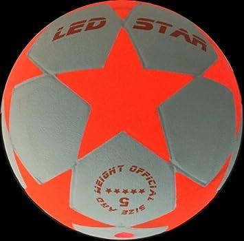 Balón de Fútbol que se Ilumina: El nuevo Champion :LED-STAR BLANCO ...
