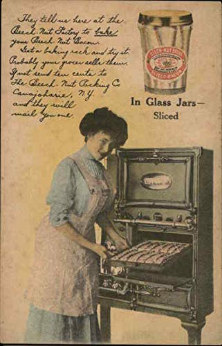 Vintage Advertising Postcard: Beech Nut Bacon Canajoharie, New - Postcard Bacon