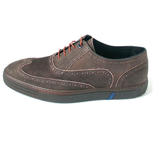 Floris van Bommel , Brogue homme Braun (Brown Nubuck)