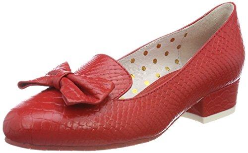 Lola Ramona Damen Alice Pumps Rot (Red)