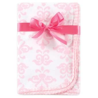 Hudson Baby Extra Large Flannel Swaddle Blanket, Pink (Discontinued by Manufacturer)