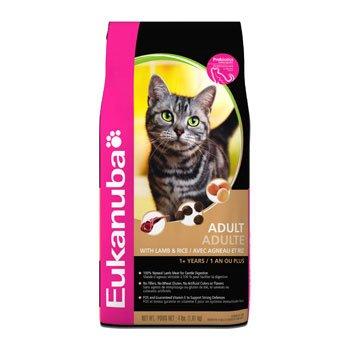 Eukanuba Adult Lamb and Rice Cat Food, My Pet Supplies