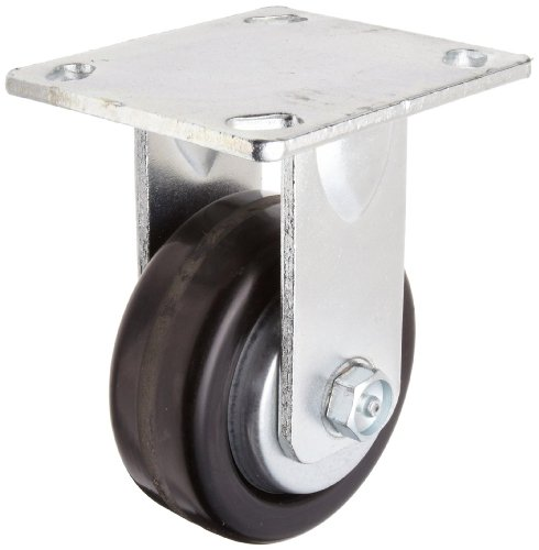 Urethane on Polypropylene Wheel 4-1//2 Plate Length Rigid RWM Casters 46 Series Plate Caster 1000 lbs Capacity 8 Wheel Dia 2 Wheel Width Ball Bearing 9-1//2 Mount Height 4 Plate Width