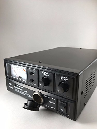DELTA DPS60M 60 Amp AC/DC Switching Power Supply w/Volt AMP Meter Ham CB Radio