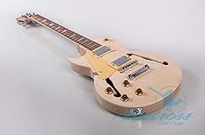 albatross guitars gk014l semi hollow left handed body electric guitar musical. Black Bedroom Furniture Sets. Home Design Ideas