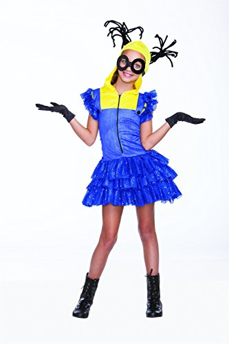 Miss Minion Girls Costume Small/Medium - Minion Full Costume