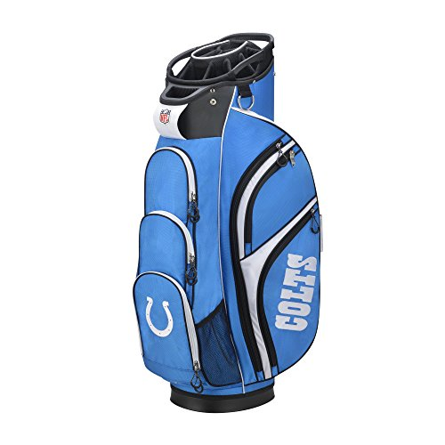 Indianapolis Colts Golf Cart Bag (Wilson 2018 NFL Golf Cart Bag, Indianapolis Colts)