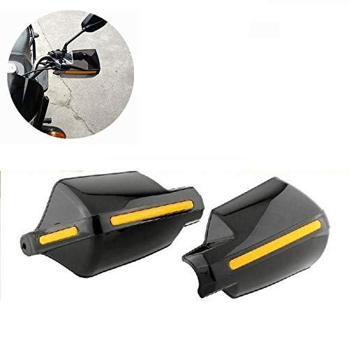 Paar 22 mm 7/8″ zwart motorfiets handbeschermers handbeschermers stuurbescherming windscherm