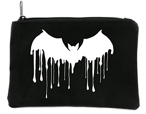 Bat Drip Cosmetic Makeup Bag Alternative Gothic (Bat Drip)