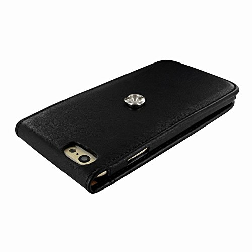 Piel Frama 689 Black Magnetic Leather Case for Apple iPhone 6 Plus / 6S Plus by Piel Frama (Image #4)