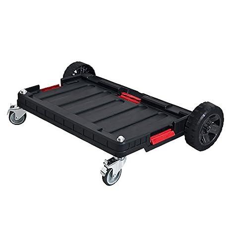 qbrick transporte carro plataforma con ruedas carro de herramientas Maletín de herramientas: Amazon.es: Bricolaje y herramientas