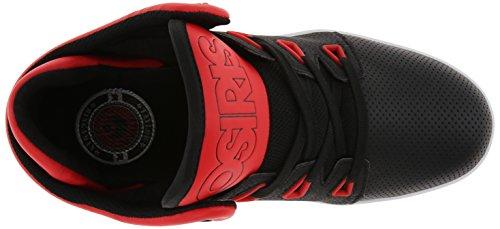 D3V Osiris White Red Skate Shoe Men Black SqwfUB